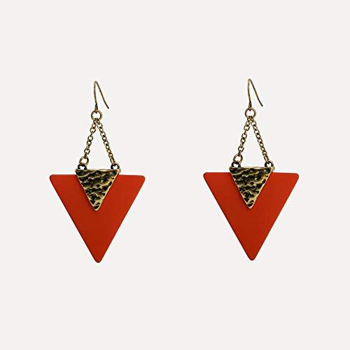 Mayanyan Europäische und Amerikanische Neue Dreieckige Mode-Zink-Legierung Ohrringe