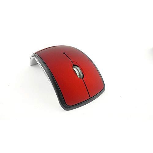 Peanutaoc Optical 2.4G opvouwbare draadloze muis draadloze muis USB vouwmuis ontvanger