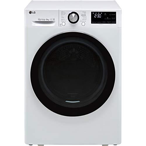 LG V9 FDV909W Wifi Connected 9Kg Heat Pump Tumble Dryer - White - A+++...