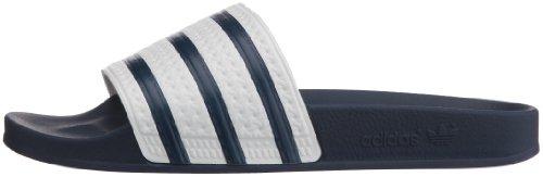 adidas Adilette, Mule Homme, Bleu Adiblue Adiblue White, 44 EU