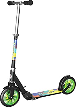 Razor A5 LUX Light-Up Kick Scooter - Green