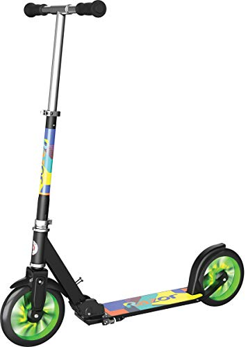 Razor A5 LUX LightUp Kick Scooter  Green