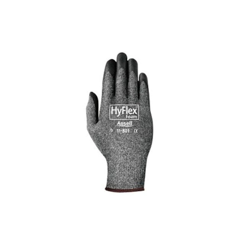覗く裏切り者方法論アンセル 軽作業用手袋 ハイフレックスフォ?ムグレ? LL 11-801-10