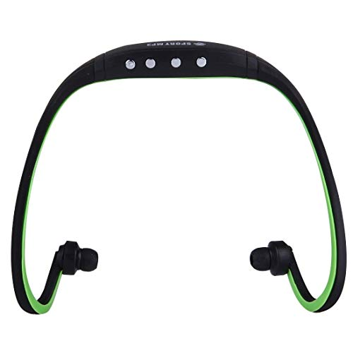 Portable SH-W3 Life Waterproof sweatproof Stereo Sport-ear koptelefoon In-ear hoofdtelefoon headset met Micro SD/TF-kaart, for smartphones en iPad & Laptop & Notebook & MP3 of andere audioapparaten,