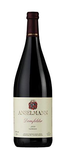 6 x Dornfelder 1l tr. 2019 Weingut Anselmann, trockener Rotwein aus der Pfalz
