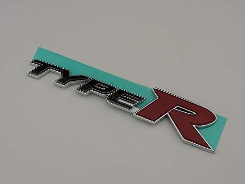 HONDA ホンダ純正 TYPE-R タイプR 用 バックドアエンブレム 約148mm×31mm シビック CIVIC FD2 流用 レッド 赤 ブラック 黒