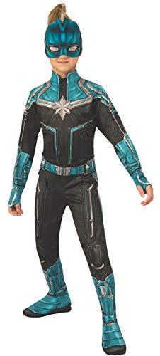 Rubies Captain Marvel Disfraz, Multicolor, Medium (700595_M)