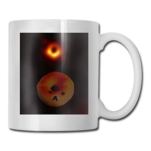 Ein schwarzes Loch oder ein Donut - das erste Foto eines schwarzen Lochs CUPS 11OZ Printed Design Lustige Kaffeetasse Tee Cup