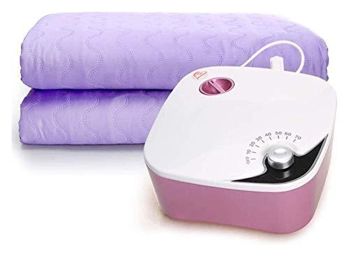 Manta eléctrica, manta de seguridad, sin radiación, pielina mute, mantas eléctricas para la cama con sobrecalentamiento, protección y calentamiento rápido, 1,5 x 1,8 m.