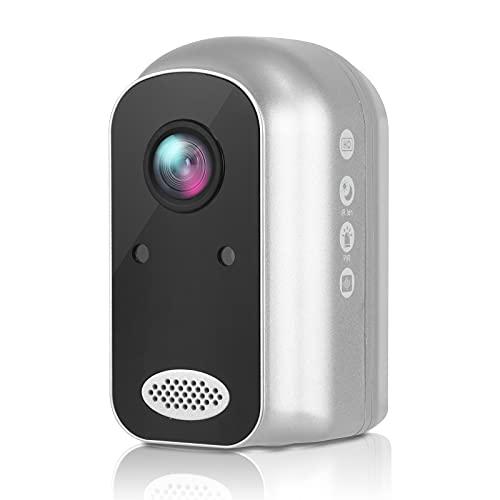 Telecamera di sorveglianza a batteria cloud esterna (104000mAh), telecamera IP WLAN 1080P all'interno Home e baby monitor con rilevatore di movimento PIR, visione notturna IR, impermeabile IP66,