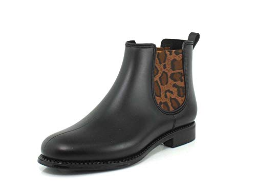 Henry Ferrera Womens Marsala Leo Black Matt Boot - 7