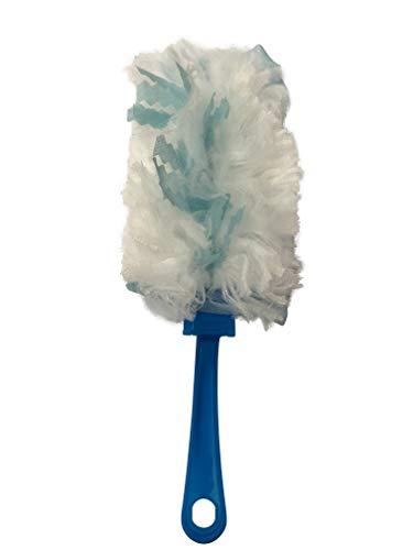 Elina Clean Staubwedel Staubwischer Staubtuch - 8 Wischer + 40 Aufsätze !! - zieht Staub, Haare und Schmutz magnetisch an - hygienisch Soft kratzerfrei staubwischen - im XXL-Pack