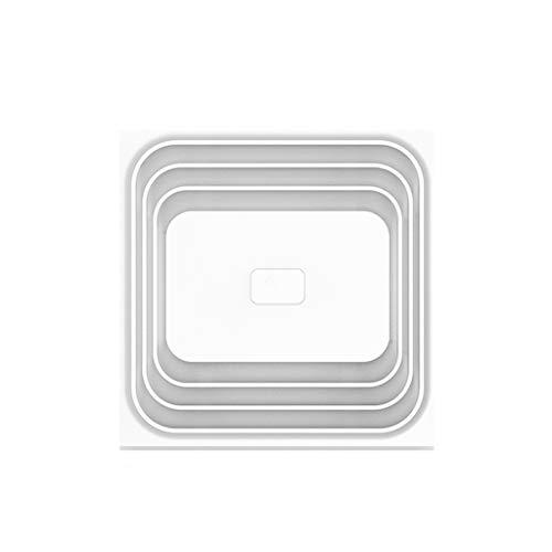 Yousiju Ventilador de escape integrado de techo para inodoro, ventilador de ventilación de techo integrado Potente silencio