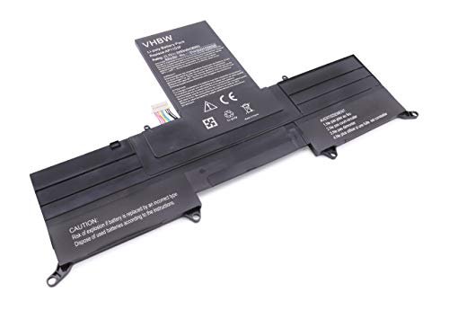 vhbw Li-Polymer Batterie 3200mAh (11.1V) pour Ordinateur Portable, Notebook Acer Aspire Ultrabook ASS3, MS2346, S3 comme BT.00303.026.
