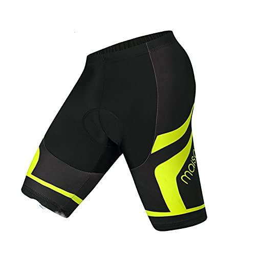 LCBYOG Pantalones Cortos de Ciclismo Acolchados a Prueba de Golpes MTB Pantalones Cortos de Bicicleta TRANSPORTAS TRANSPORTAS TRANSMAS para Hombre Mujeres Ciclismo Culote (Color : Shorts, Size : 3XL)