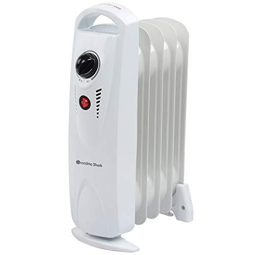 GRANDMA SHARK Oil Filled Radiator, Portable Heater