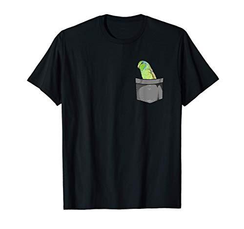 Sperlingspapagei Futter I Papagei Motiv für Vogel Halter T-Shirt