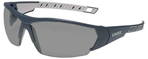 Uvex i-works Gafas de seguridad - Gafas Protectoras con Revestimiento Antivaho y Resistente a los Arañazos y Productos Químicos ⭐