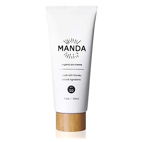 MANDA Organic Sun Creme - SPF 50