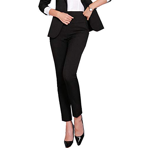 Doufan Office Lady Formele Broek Vrouwen Hoge Taille Werk Broek Mode Casual Herfst Winter Potlood Broek Vrouwelijke Kleding