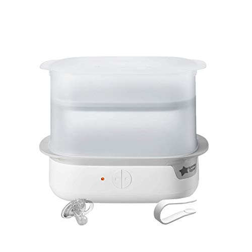 Tommee Tippee Advanced Steam Electric Sterilizer for Baby Bottles, Kills Viruses and...