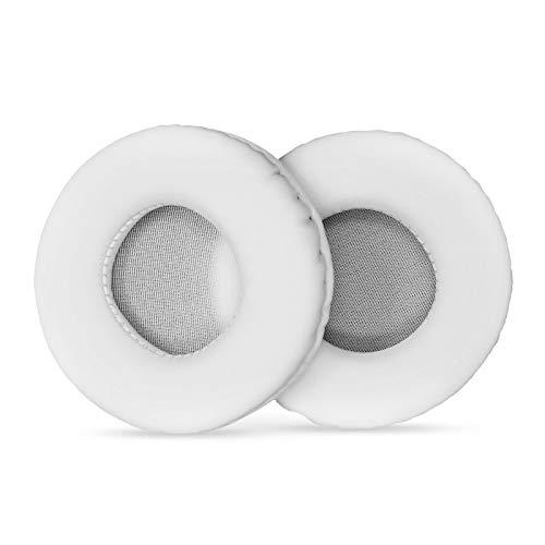 Almofadas de ouvido, Romacci Almofadas de orelha de couro de poliuretano de substituição Almofadas de orelha de substituição para Philips/RAPOO/Audio-Technica/SONY/Logitech Almofadas de orelha
