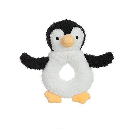 Apricot Lamb Bebé sonajas Juguetes Peluche Confort para Bebés Recién Nacidos Pingüino