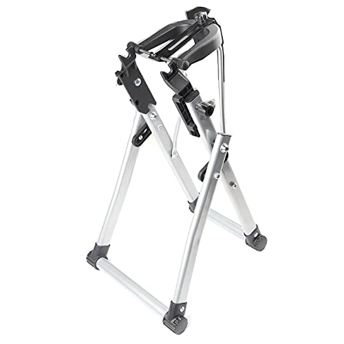 Home Mechanic Wheel Truing Stand Bicycle 24-28 Inch Wheel Bike Wheel Maintenance Home Truing Stand Support Bicyle Repair Tool Bicycle Storage Stand Rack (Color : Silver)