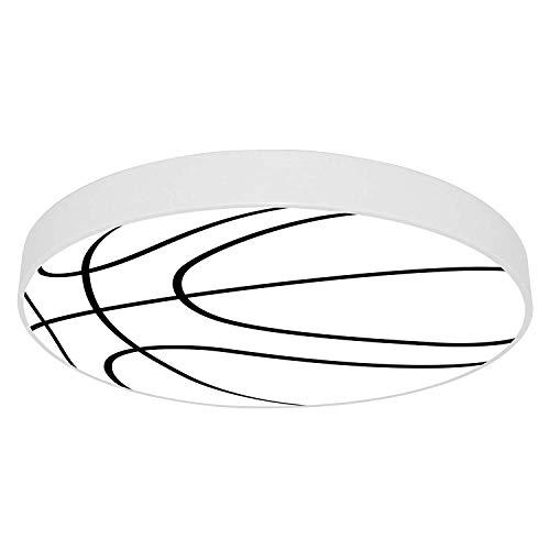 Suge Basketball LED-Deckenleuchte Augenschutz Kinderzimmer Deckenleuchte Jungen und Mädchen Raumdekoration Licht (Color : D, Size : White Light)