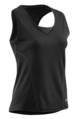 CEP – Training Tank TOP für Damen   Atmungsaktives Sporttop für extra Komfort in schwarz   Größe M