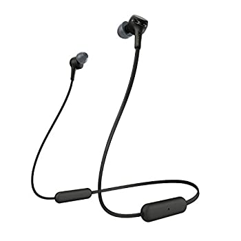 Sony WI-XB400 Wireless In-Ear Extra Bass Headset/Headphones with mic for phone call Black