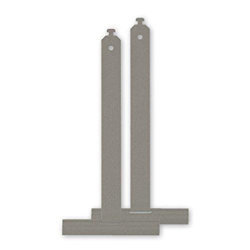 2er Set Aufhängefedern 'Softtouch' aus Federstahl, 198 mm Länge, zum Einhängen in die Rolladenwelle, mit Spezialbeschichtung für einen geräuscharmen Betrieb, von EVEROXX