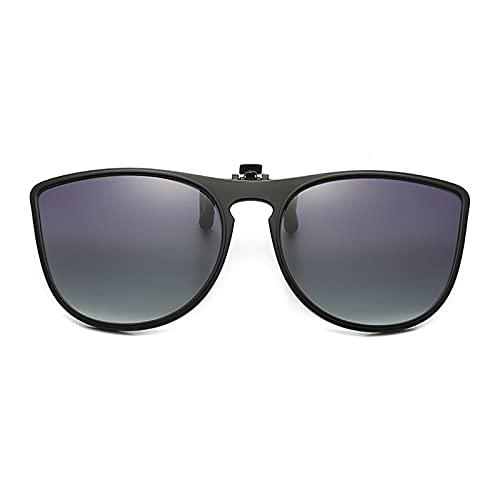 Las Gafas De Sol De Marco Grueso Polarizado De Clip En Polarización Se Polarizan En Gafas De Prescripción,4,49MM*56MM
