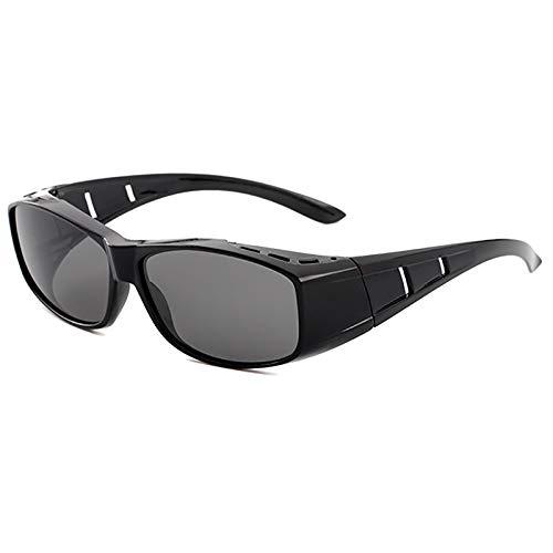 APCHY Gafas De Sol Deportivas Polarizadas para Hombre Y Mujer Marco Ligero Y Duradero Protección UV400 para Conducir Ciclismo Golf Pesca Correr Vela Esquí,Accesorios con Estuche Rígido,B