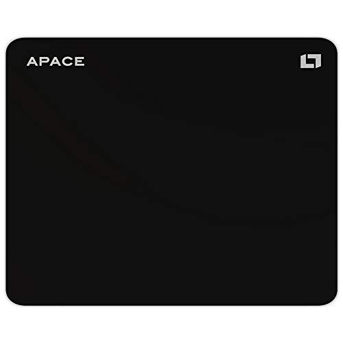 Lioncast Apace High Performance Hybrid Gaming Mauspad (400mm x 315mm, Hybrid-Stoff-Oberfläche, rutschfeste Silikonunterseite, wasserabweisend, abwaschbar) - Perfekte Oberfläche für Präzision