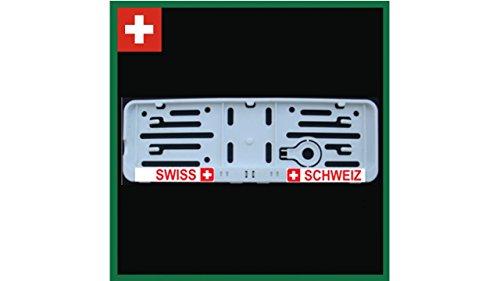 Fanartikel-Kennzeichenhalter-Schweiz