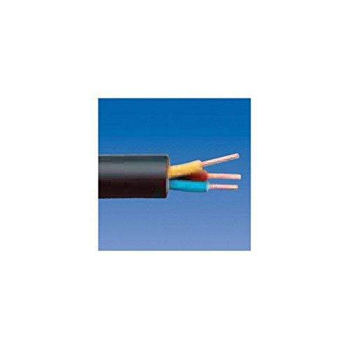 Kopp 153325009 Erdleitung NYY-J, 3 x 1.5 mm², 25 m, schwarz