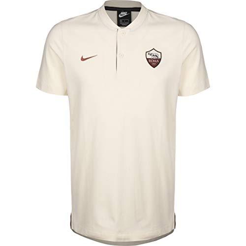 Desconocido Unbekannt Rom M NSW Modern GSP AUT Short Sleeve Poloshirt Herren L hellcremefarben/dunkel teamrot
