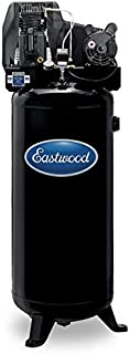 Eastwood 60 Gallon Portable Belt Driven 3.7 Hp Electric Single-Stage Air Compressor