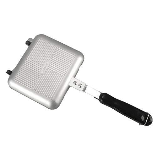 PoeticHouse Sandwichera - Sartén Antiadherente De Doble Cara para Todo Tipo De Cocinas Incluida Inducción Y Vitrocerámica - Fácil De Limpiar - 15 X 13.5cm