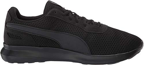 PUMA Men's ST Activate Sneaker, Black Black, 10.5 M US