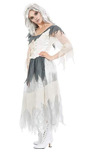ORION COSTUMES Costume da donna travestimento Halloween, zombi, fantasma spettrale, cadavere di una sposa