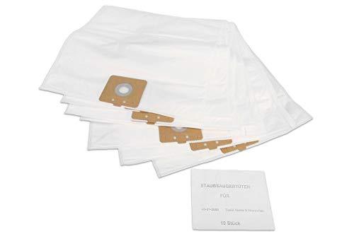10 hoogwaardige stofzuigerzakken geschikt voor Taski Vento 8 stofzuiger -4-laags-