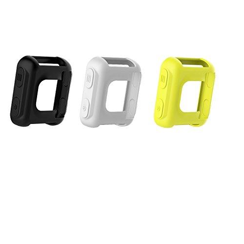 Smartwatch hülle Case Silikon schwarz für Garmin Forerunner 35 Approach S20