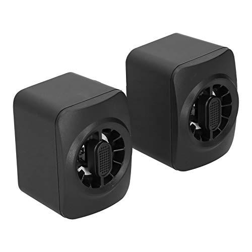 Sxhlseller Computerlautsprecher - A1 Tragbarer Mini-RGB-Lautsprecher...