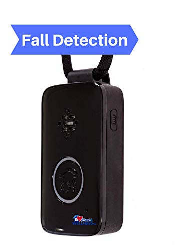 Home&Wellness GPS Medical Emergency Fall Alert Button with Fall Detection (2 Month)