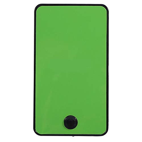 SOONHUA - Mini ventilador portátil con ventilador USB, color verde