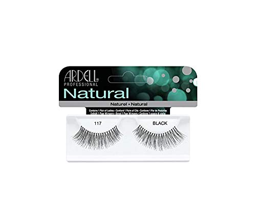 Ardell Falsche Wimpern, Natural N Grad 117, 1er Pack