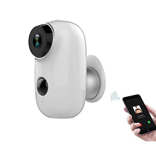 Cámara de seguridad IT, IT STORE inalámbrica recargable, batería Powered WiFi Home Security Camera, Night Vision, Indoor/Outdoor, 1080P con Motion Detection, 2 vías de audio y resistente al agua.