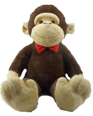 Jumbo Stuffed Animal, 52' (Monkey with Bow tie)